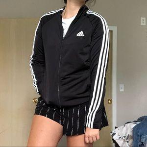 💛Adidas Black Zip Up Jacket